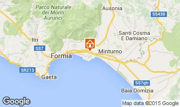 Map Minturno Apartment 72866