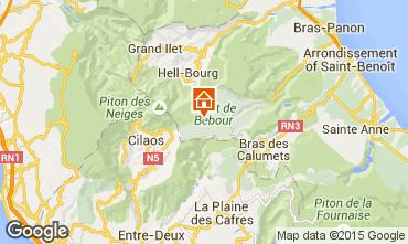 Map La Saline les Bains One-room studio flat 97960
