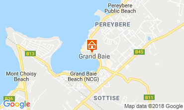 Map Grand Baie Apartment 55261