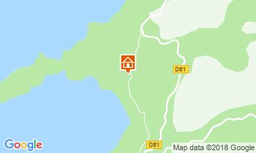 Map Cargèse House 113679