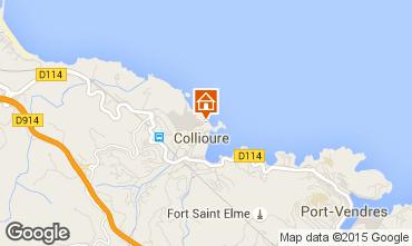 Map Collioure Flat 87292