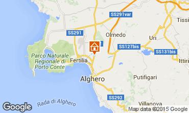 Map Alghero House 18154