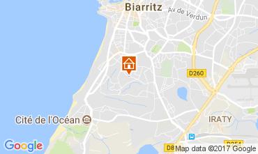Map Biarritz Apartment 112057