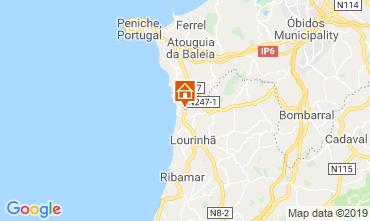Map Lourinhã Villa 119727