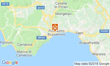 Map Policastro Bussentino Apartment 38444