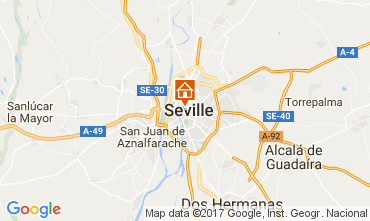 Map Seville Apartment 111431