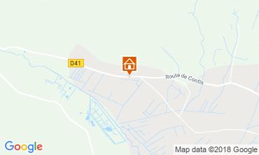 Map Saint-Julien-en-Born Mobile home 116430