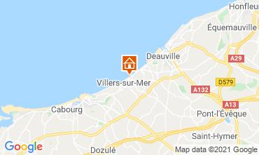 Map Villers sur Mer Apartment 78984