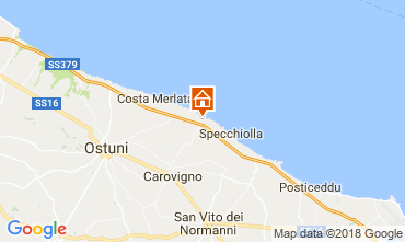 Map Ostuni Villa 94351