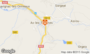Map Ax Les Thermes Apartment 58968