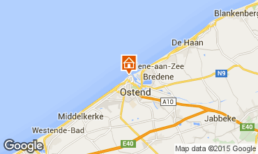 Map Ostend Apartment 31824