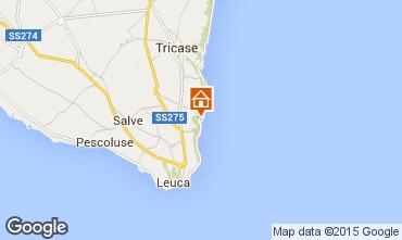 Map Marina di Novaglie Studio apartment 74731