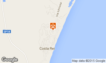 Map Costa Rei Apartment 76050