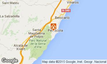 Map Peñíscola Apartment 98939