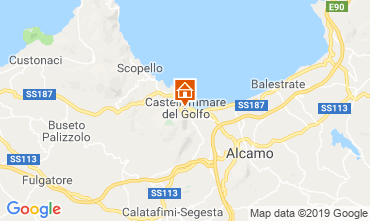 Map Castellammare del Golfo Apartment 118185