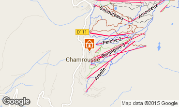 Map Chamrousse Apartment 75632