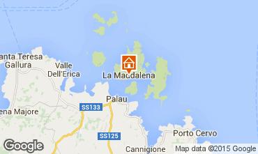 Map La Maddalena Apartment 88384