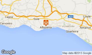 Map Albufeira Apartment 78175