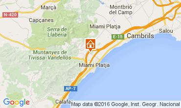 Map Miami Playa Villa 84008