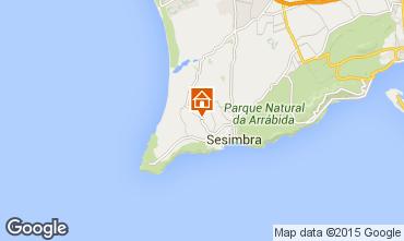 Map Sesimbra Villa 76252