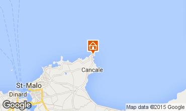 Map Saint Malo Mobile home 25395