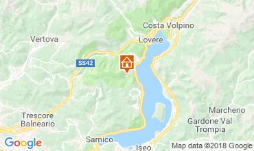 Map Riva di Solto Apartment 113416