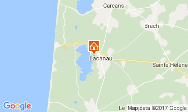 Map Lacanau House 108013