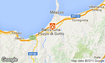 Map Milazzo Studio apartment 51568