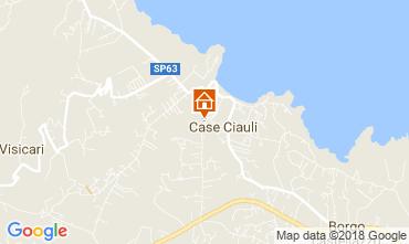 Map Castellammare del Golfo Apartment 106382