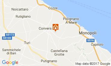 Map Polignano a Mare Villa 70846