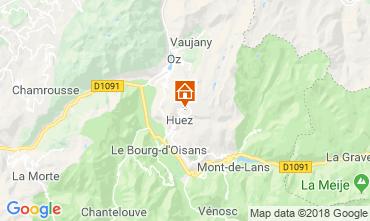 Map Alpe d'Huez Studio apartment 66809