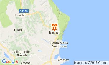 Map Baunei Apartment 61401