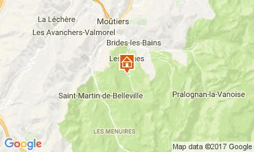Map Méribel Chalet 111804