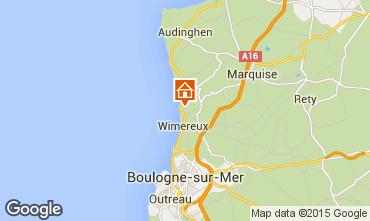 Map Wimereux House 20201
