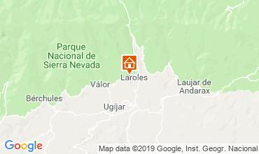 Map Laroles Self-catering property 83882
