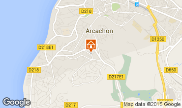 Map Arcachon House 43092