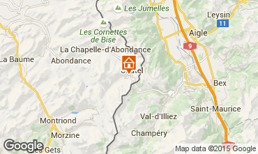 Map Ch�tel Chalet 44057