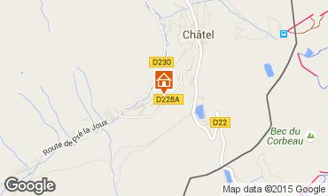 Map Châtel Chalet 44057
