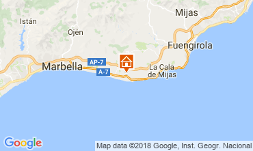 Map Marbella Villa 115319
