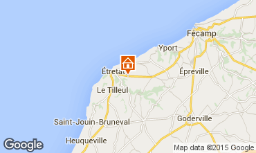 Map Etretat Self-catering property 60555