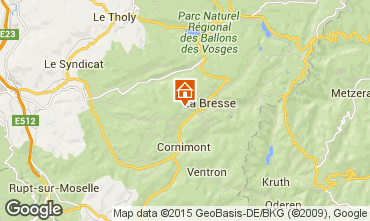 Map La Bresse Chalet 66776