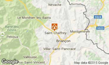 Map Serre Chevalier Apartment 78318