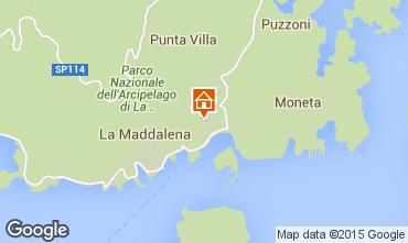 Map La Maddalena Apartment 79003