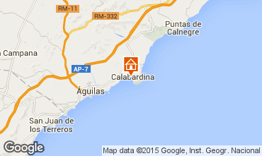 Map Águilas Apartment 96000