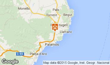 Map Calella de Palafrugell Villa 99245