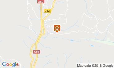 Map Le Castellet Apartment 30584