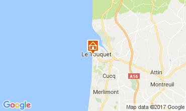 Map Le Touquet Studio apartment 15973