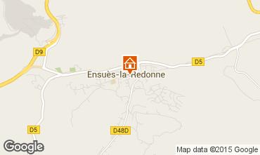 Map Ensues La redonne Studio apartment 11815