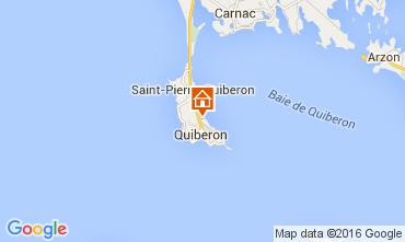 Map Quiberon Apartment 28761