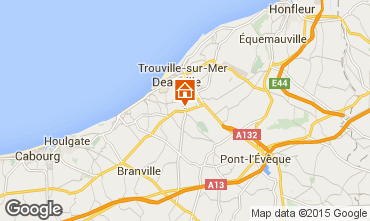 Map Deauville Mobile home 17224